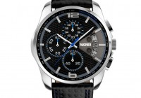 CakCity Men's Watch Leather Band