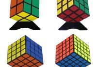 Magic Cube Puzzle Bundle Pack(2x2x2, 3x3x3, 4x4x4, 5x5x5)