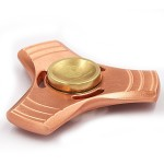 WOOCON Pure Copper Triangle Hand Spinner
