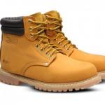Team Men's Genuine Leather Waterproof Work Boots